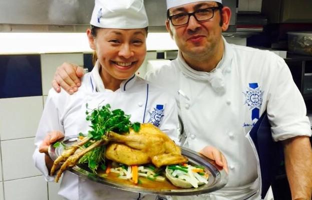 「青柚精緻料理」巴黎藍帶員工培訓之旅
